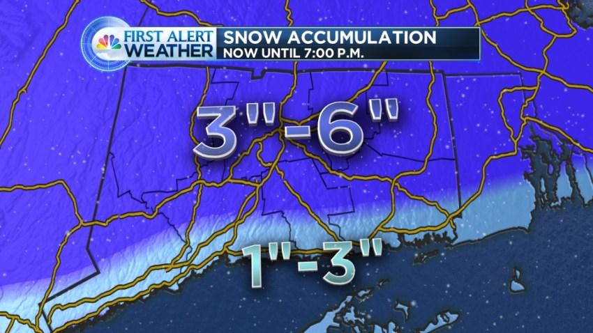 February 9 snowmap