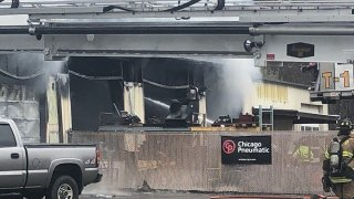 Fire at a business in South Windsor