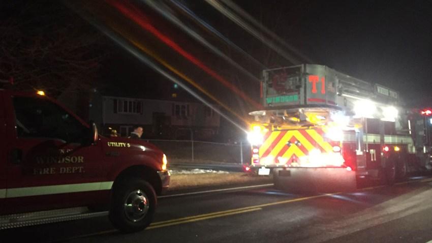 Fire on Palisado Avenue in Windsor