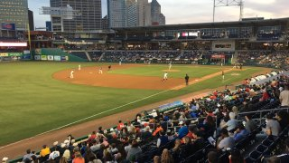 First Audience at Dunkin Donuts Park