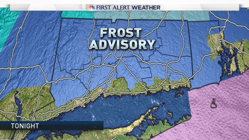 Frost advisory for Tuesday Oct 11
