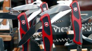 Victorinox swiss army knifes f