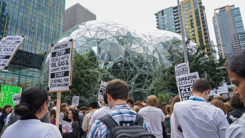 Amazon Threatens to Fire Employees After They Speak out on Climate change
