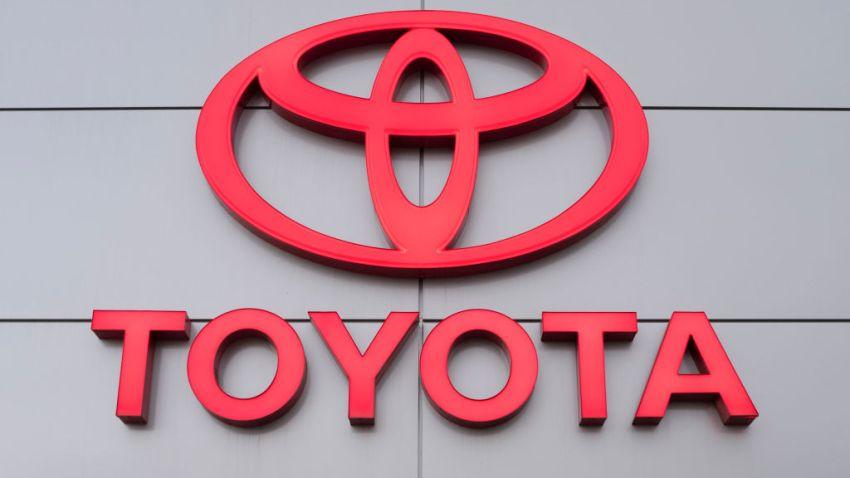 A Toyota logo is seen at a car dealership in San Jose, California, on Nov. 19, 2019.