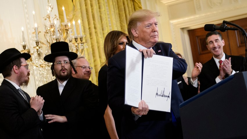 Trump anti-semitism executive order