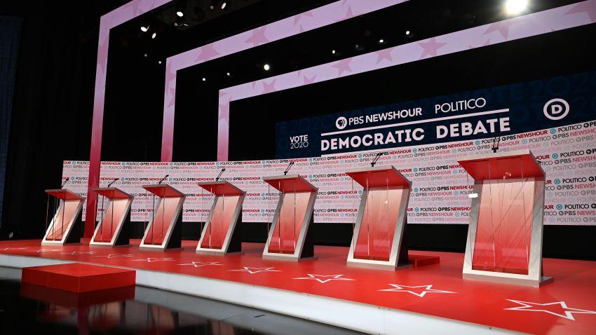 December Debate Stage