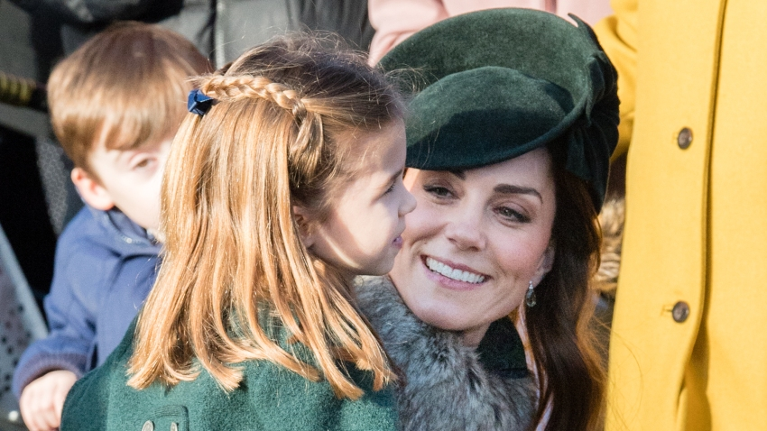 Catherine, Duchess of Cambridge and Princess Charlotte of Cambridge