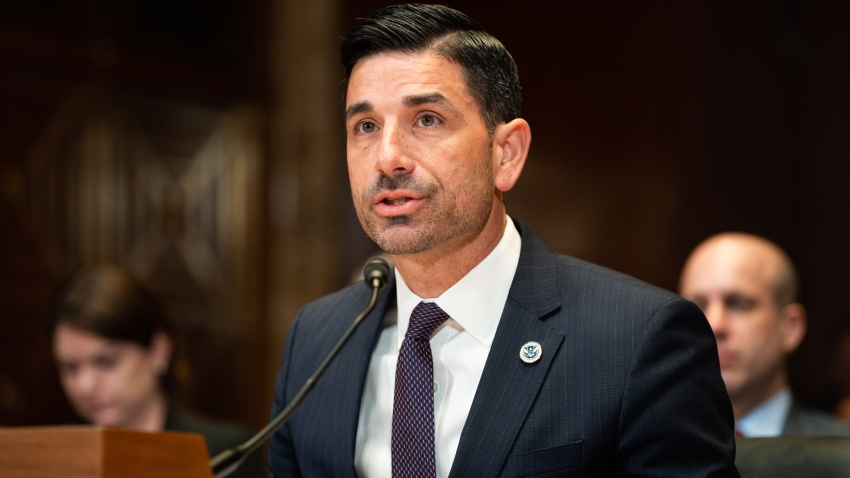 Chad Wolf, acting Secretary, U.S. Department of Homeland Security, testifies at a hearing of the Senate Appropriations Committee Subcommittee on the Department of Homeland Security.