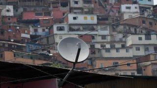 DirecTV dish antenna