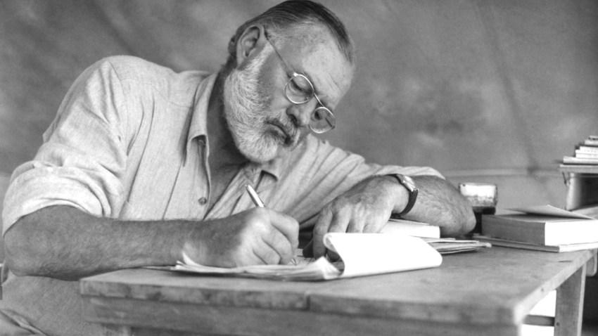 Ernest Hemingway On Safari