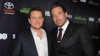 actors Matt Damon and Ben Affleck