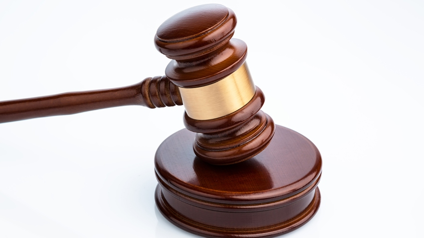 A generic wooden gavel