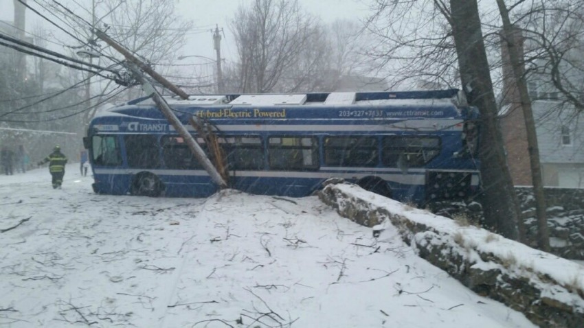Greenwich CT Transit bus crash 1200