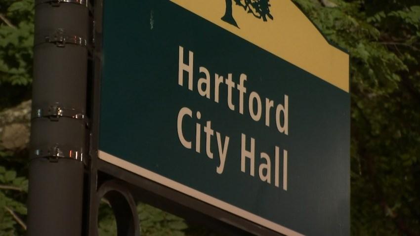 Hartford City Hall night