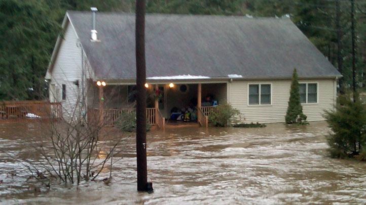 House flooding southbury