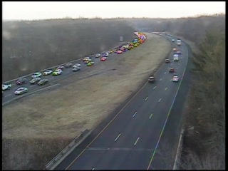 Crash on Interstate 84 in Southington
