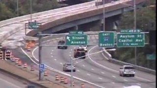 Interstate 84 in Hartford