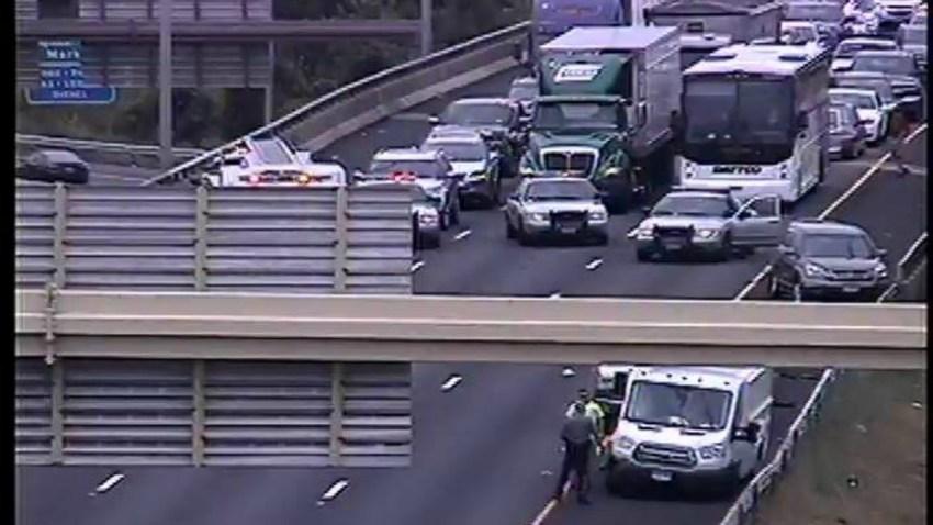 Interstate 91 crash Hartford June 28