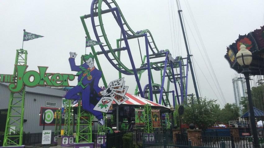 Joker at Six Flags New England