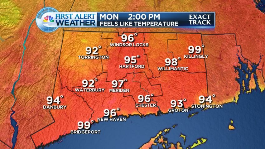 July 20 Model RPM4 iCAST Feels Like Temperature CT