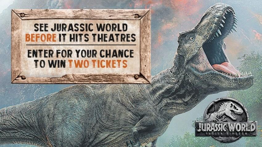 JurassicWorld tickets