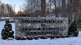 Killingly High School sign