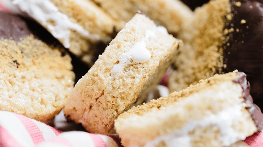 Lauren Conrad's Rice Krispies Treat S'mores
