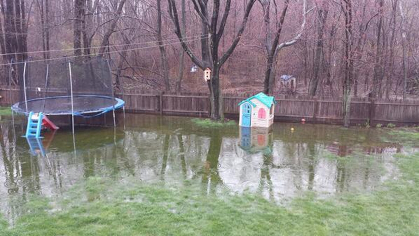 Leighton Mazurek Plainville flooding