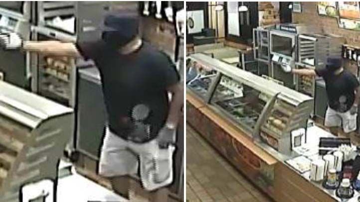 MIlford Subway Robbery July 8 2013