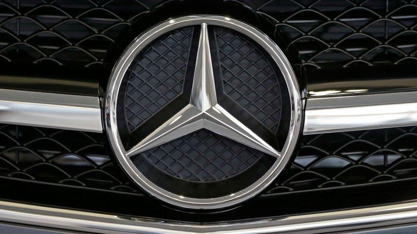 Mercedes Car Logo Generic Stock