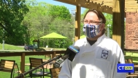 CT LIVE!: Chef Chris Prosperi and Metro Bis in Simsbury Reopen for Outdoor Dining