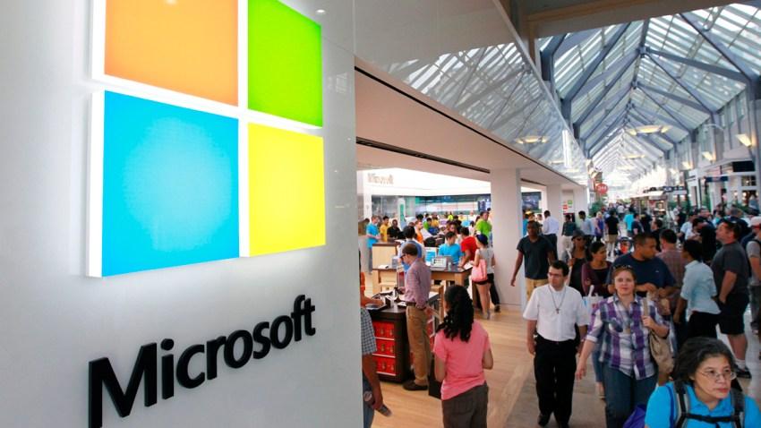 New Microsoft Logo