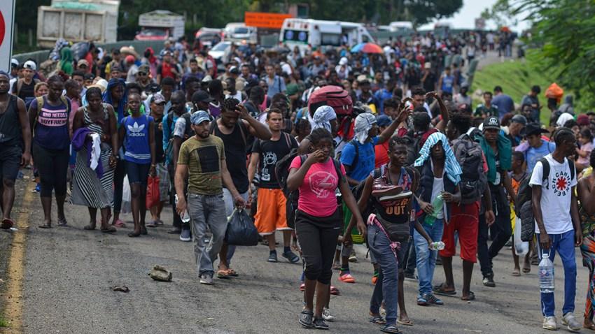 Mexico Migrant Caravan