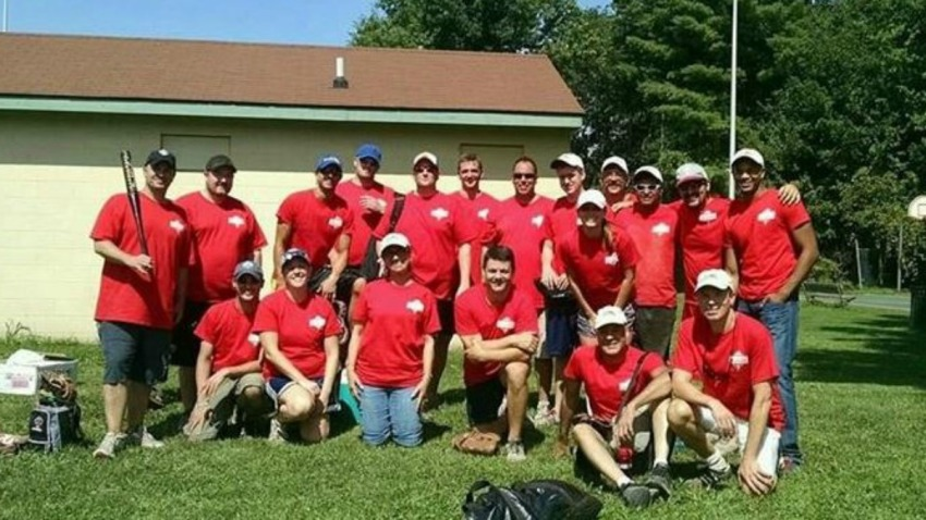 NBC Connecticut Softball Team