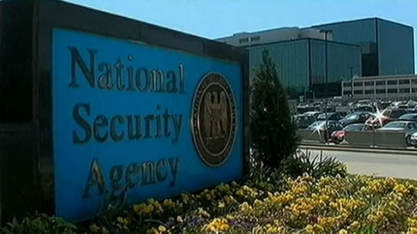 NSA sign building