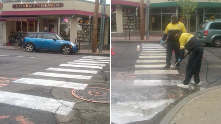 New Haven crosswalks
