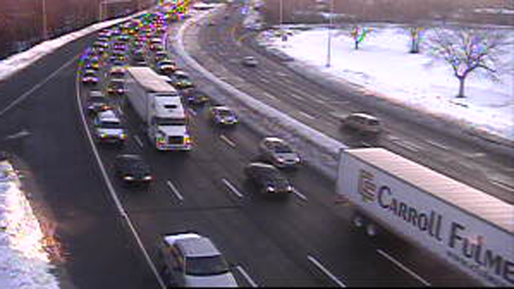 New Haven traffic Feb 12