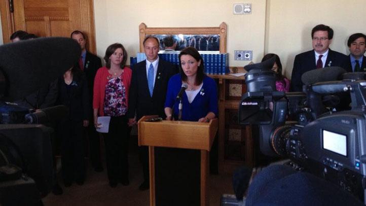 Newtown families gun control legislation