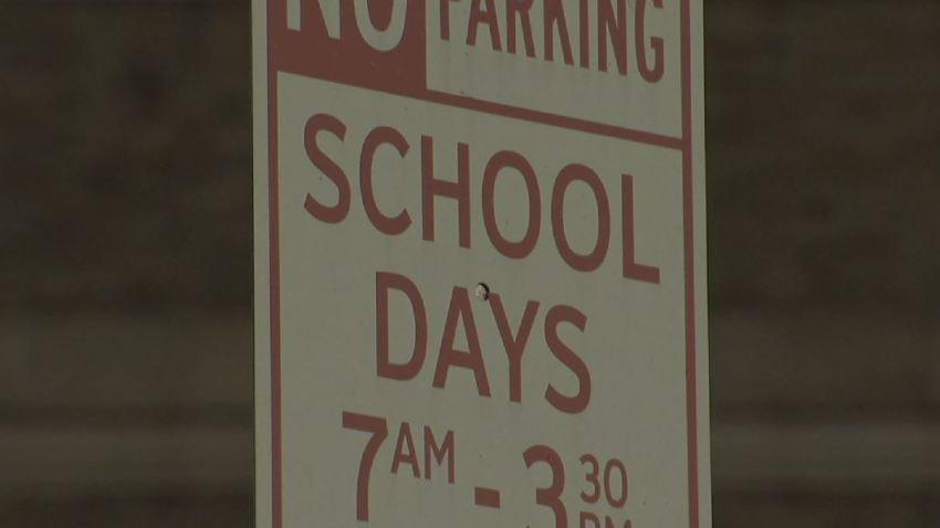 No Parking School Days Generic School