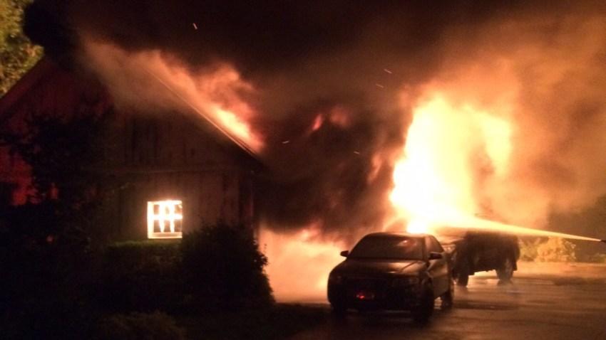 Norwalk-garage-fire