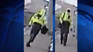 Surveillance photos of robbery at Oakville Post Office