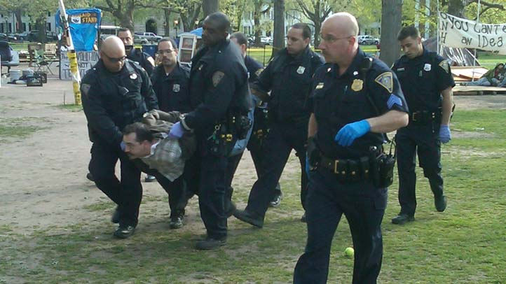 Occupy New Haven arrests