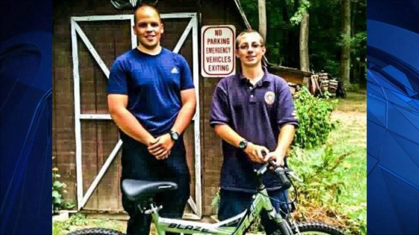 Officer Zachary Sherman bike