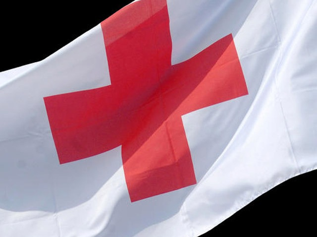 PHI red cross flag