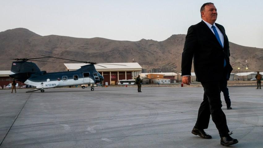 APTOPIX Afghanistan US Pompeo