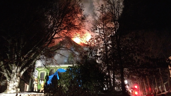 Prospect Street Putnam fire