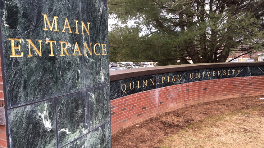 Quinnipiac main entrance