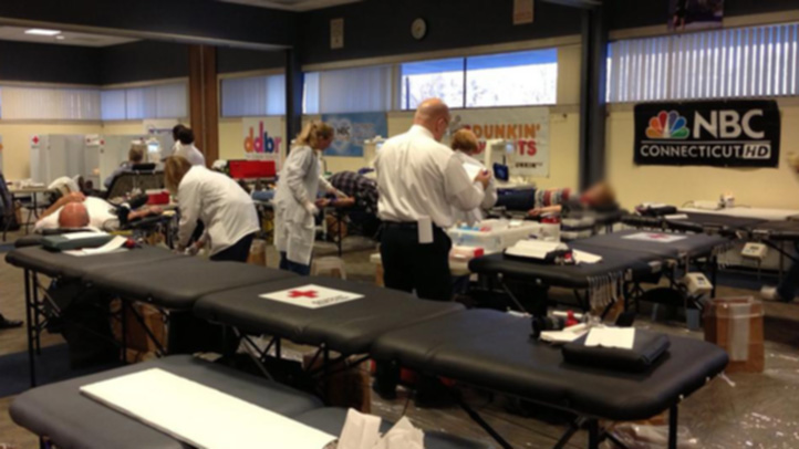 Red Cross NBC Connecticut blood drive 722