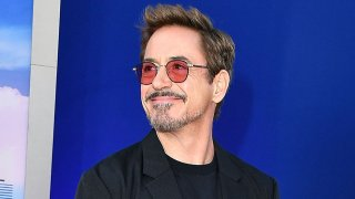 """In this June 28, 2017, file photo, Robert Downey Jr. arrives at the Premiere Of Columbia Pictures' """"Spider-Man: Homecoming"""" at TCL Chinese Theatre in Hollywood, California."""