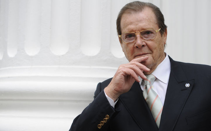 DEU Roger Moore Interview